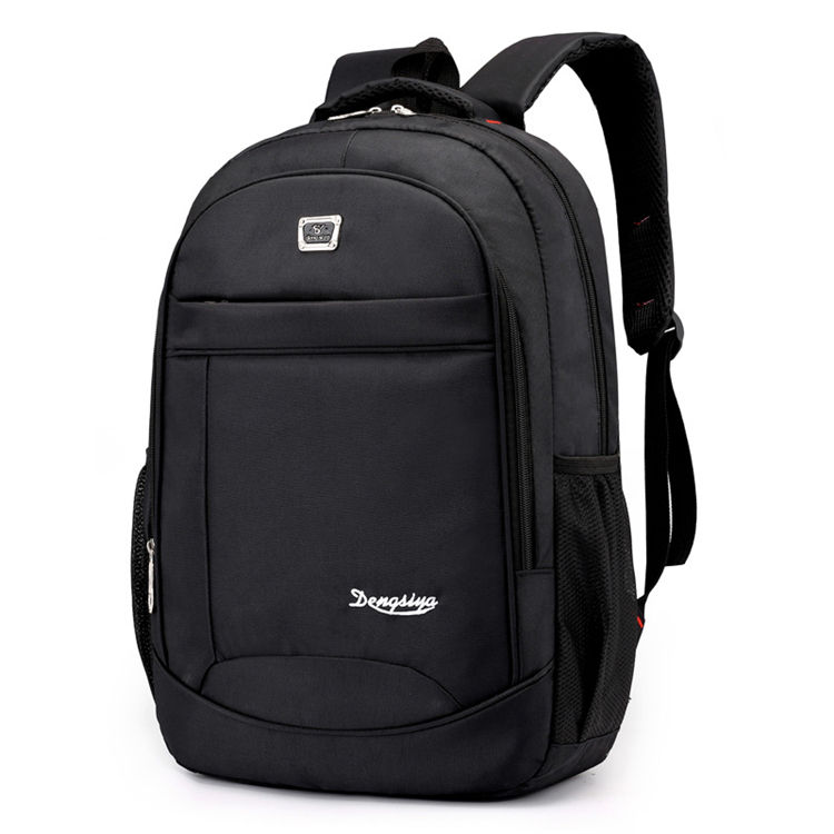 oxford 600d custom black boys large plain simple duffle classic backpack for everyday