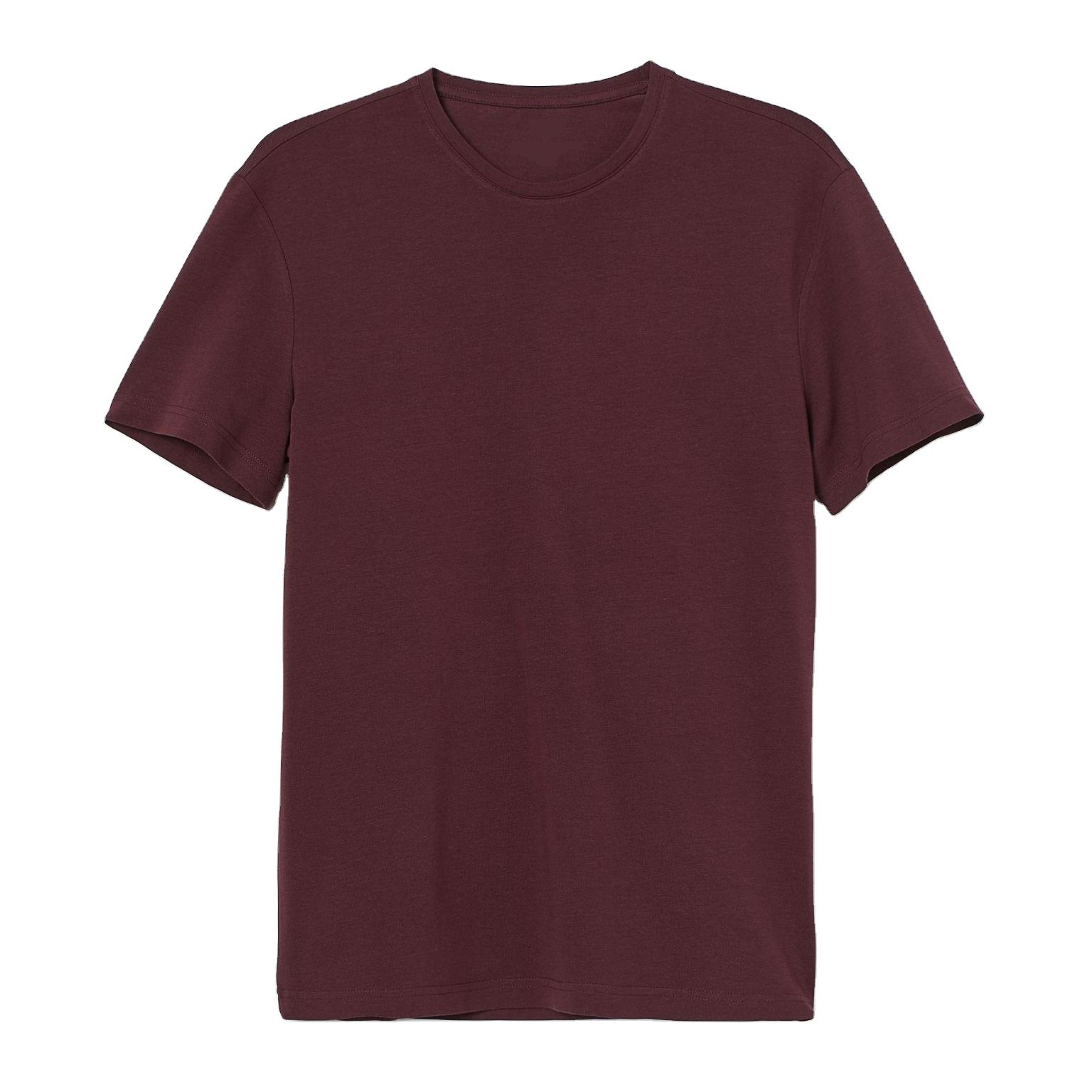 Round Neck Men Wholesale Blank T shirts At Factory Price OEM Plain T-shirt High Quality Tshirt From Bangladesh