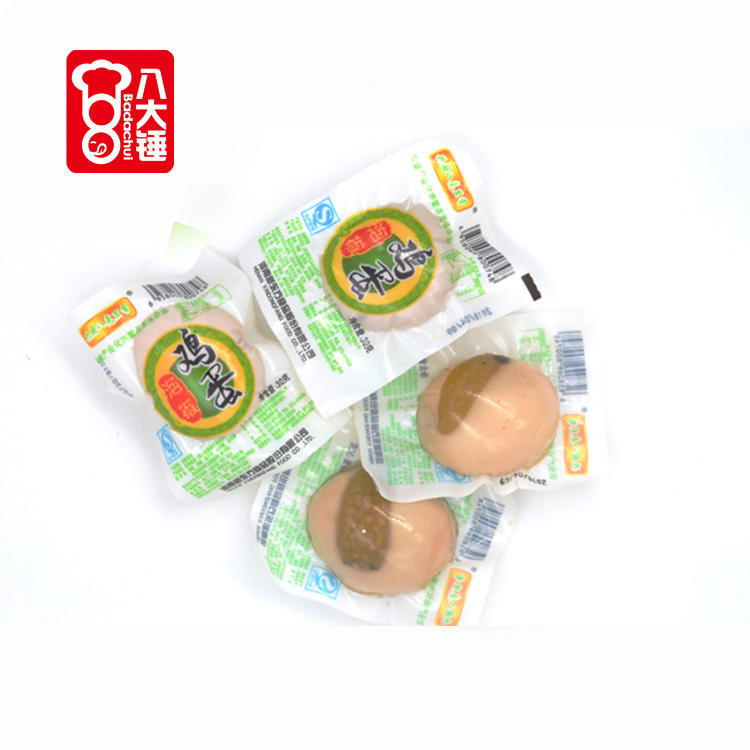Salted baked flavors snacks spicy eggs manufacturer