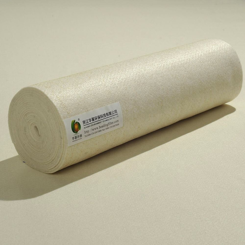Waterproof Acrylic Dust Filter Cloth/Fabric With Ptfe Membrane For Air Filter Collector