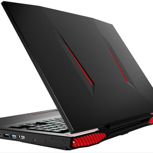 17 inch i7 7700HQ DDR4 32GB RAM 1TB SSD big screen gaming laptop with 6GB discrete graphics card and 5 colors backlit keyboard