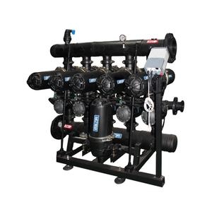 H Type 4 Inch Irrigation Backwash Filtration System Water Treatment For Agriculture