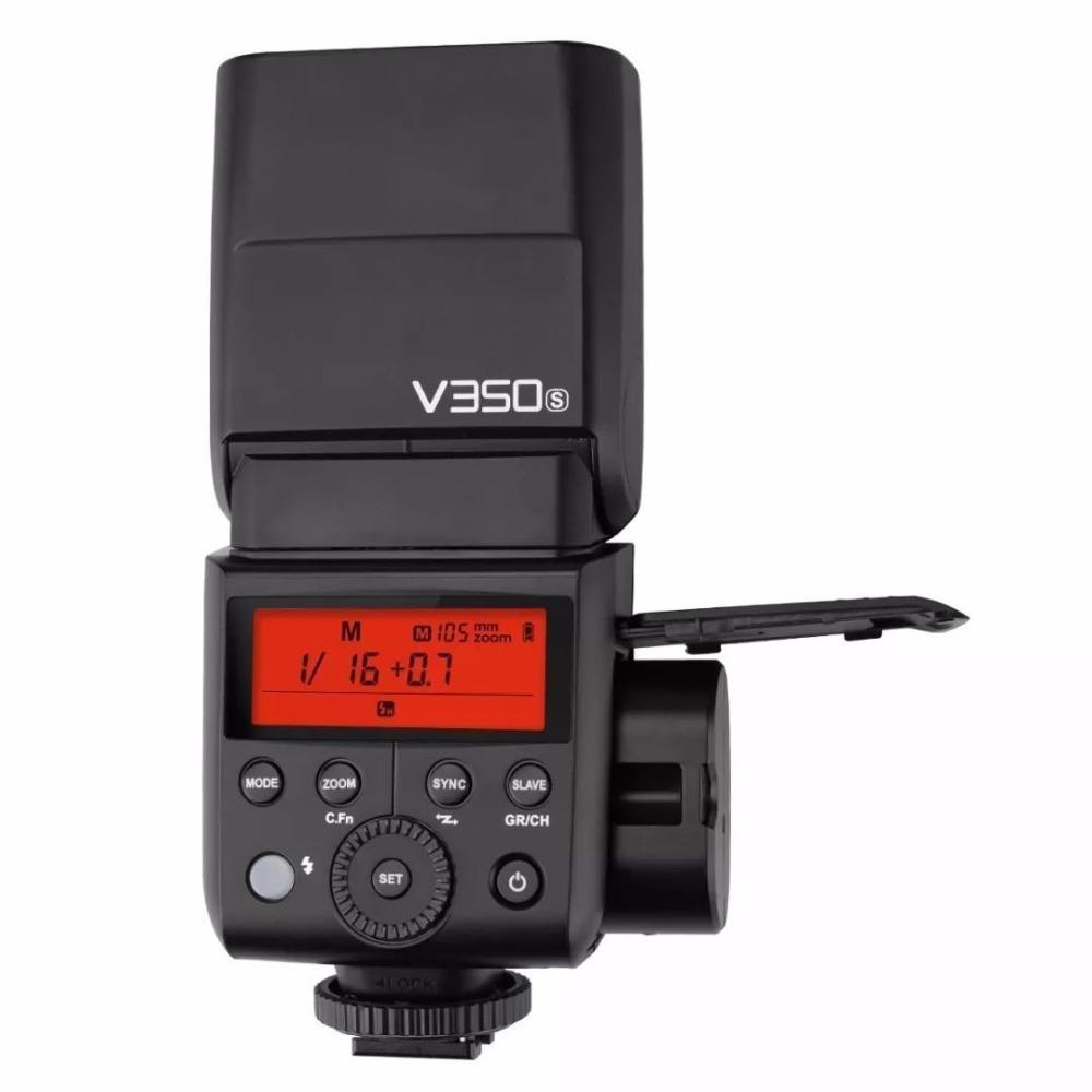 Godox V350 V350C Series TTL 2.4G Li-ion Camera Flash with Built-in Rechargeable Battery for Canon Nikon Sony Olympus Fujifilm