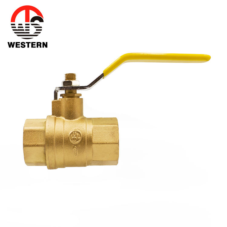 600WOG C37700 Material UL Certification Full Bore Port Npt Thread Brass Gas Ball Valve and Fittings Manufactures