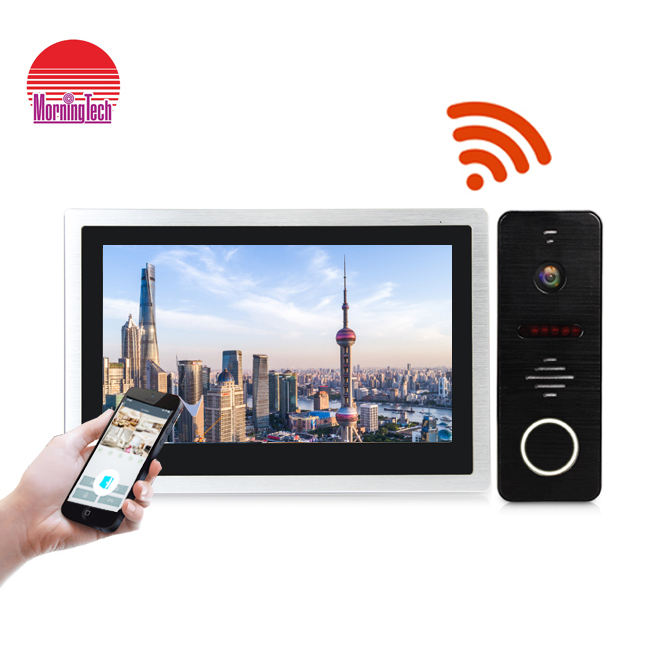 hot sale wifi video door bell intercom system home security video wifi with unlock control and transfer calling