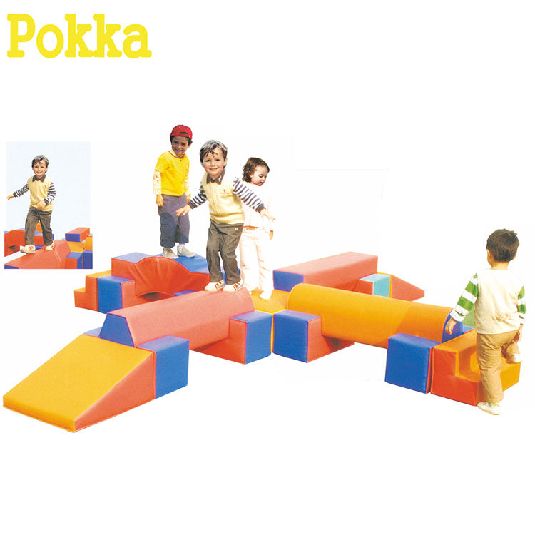 Indoor Playground Eco-friendly Toddler Sponge Toy Children Soft Play Packages Foam Building Blocks Climbing Toy