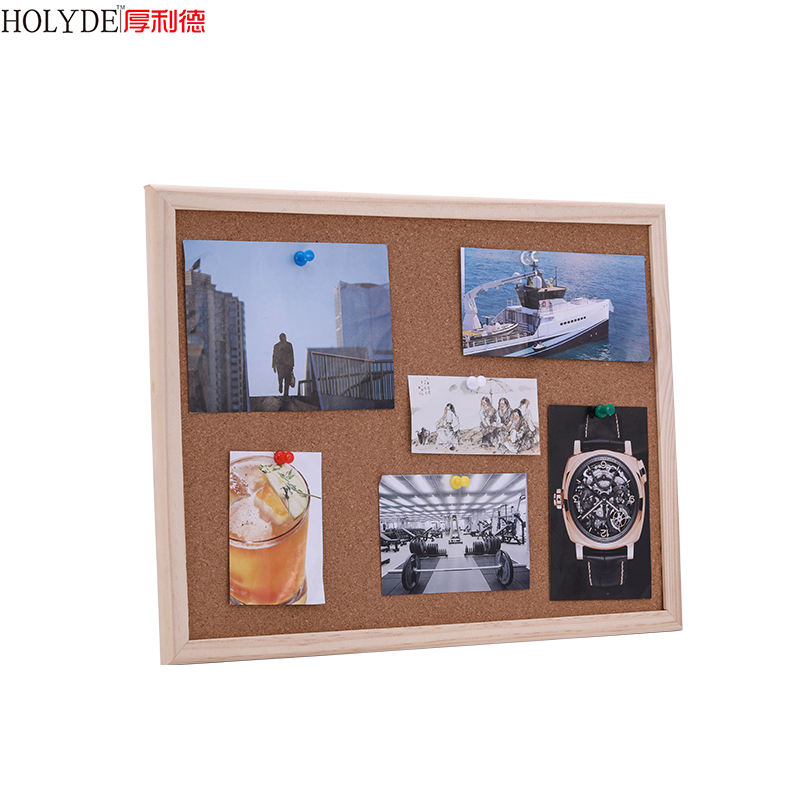 High Quality Bulletin Memo Notice Cork Board In Wooden Frame