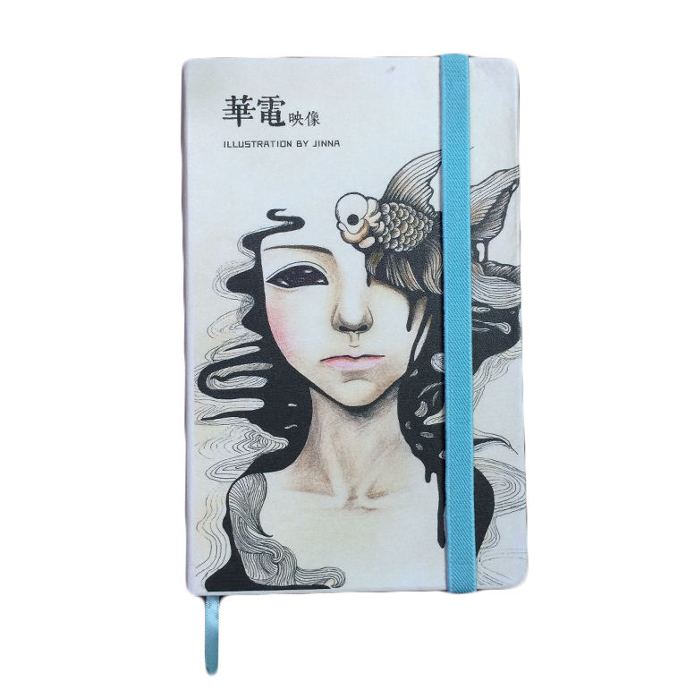 Custom Full Color Printing PU Leather Hardcover Exclusive Planner