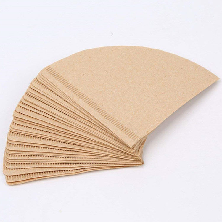 China Manufacture High Quality Multi Sizes And Multiple Selection V Shape Heat Seal v60 Coffee Drip Filter Bag Paper