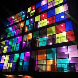 transparent pvc europe standard custom stained glass window film