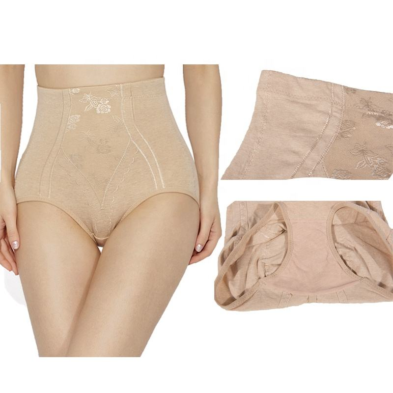 Wholesale Super Stretch cotton shapewear for women high waist shaper tummy control panties