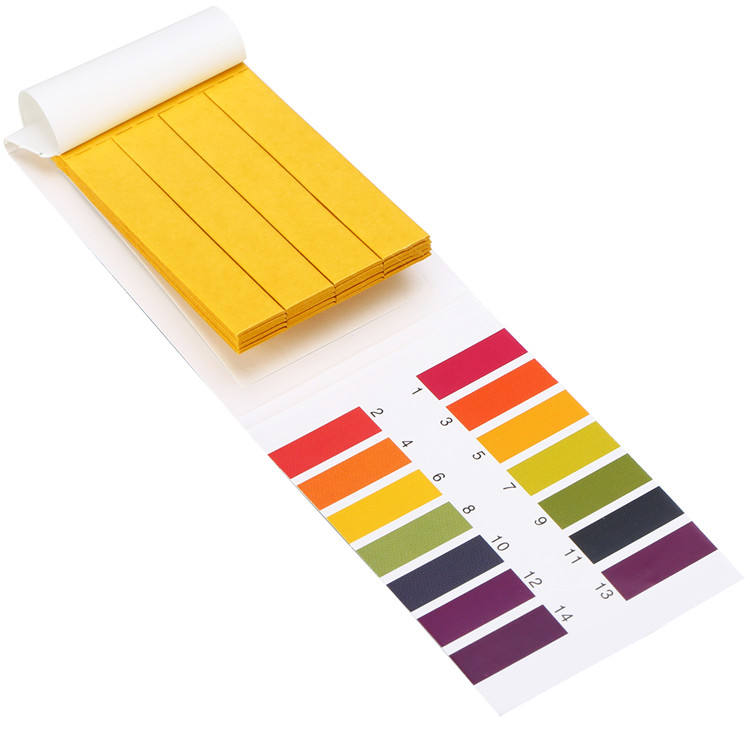 Ph 0-14 Test Paper Litmus Strips <span class=keywords><strong>Tester</strong></span> Voor Testen Ph Balans, 100Pcs Per Pack Universele Ph Testen Strips