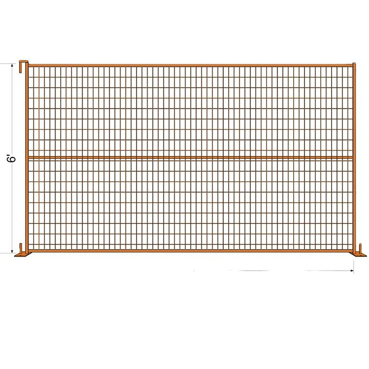 High quality and durable CA temp fencing with cheap price
