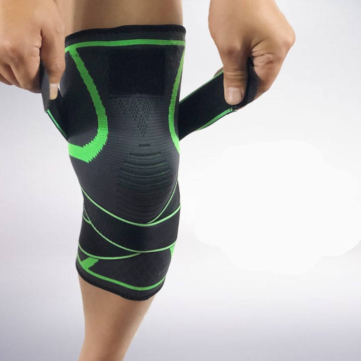 Knitting Knee Protector Motorcycle 3D Magic Knee-Brace Xxxl Protector Knee Support