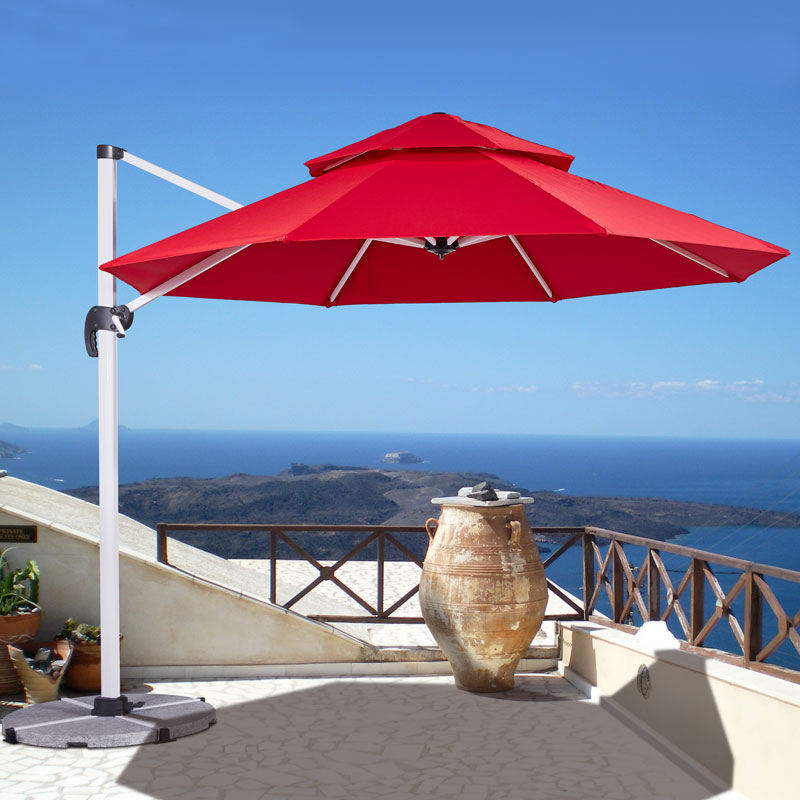 3*3M Outdoor Garden Patio Pool Restaurant Roman Parasol Umbrella aluminum outdoor umbrella
