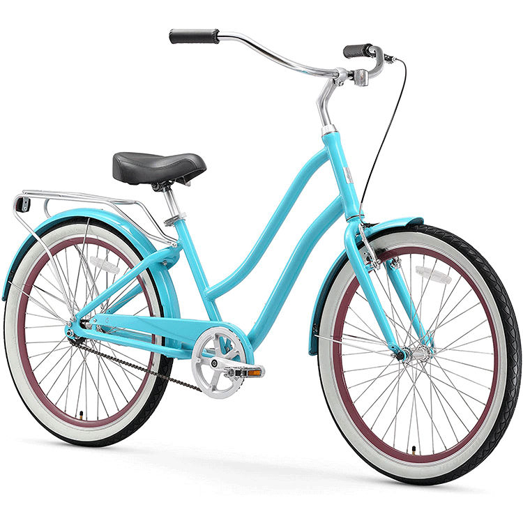 "Hot Selling Models 26"" Beach Cruiser Steel Retro City Bike /City Bicycle In South Amercia/ Lady Bicycle"