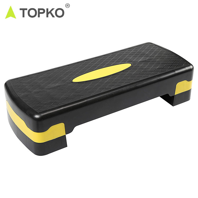 TOPKO Hot Selling Private Label Exercise Step Platform Fitness Aerobic Step