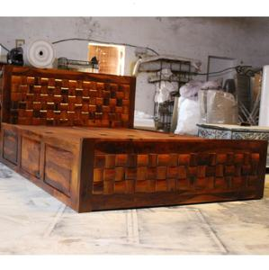Wholesale Indian Modern Bed Modern Bedroom Furniture King Size Bed Solid Wood With Storage