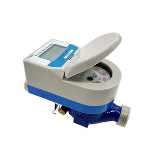 digital direct reading remote smart water meter shut off valve