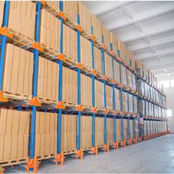 High Density Warehouse Rack Systems for Distribution Application