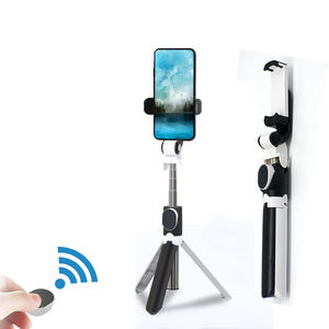 Wholesale Mi Portable Phone Stand Flexible Selfie Stick Tripod Bluetooth With Remote Control
