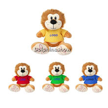 2015 Cute fashion soft custom lion teddy bear soft lion toy cheap promotional stuffed plush lion