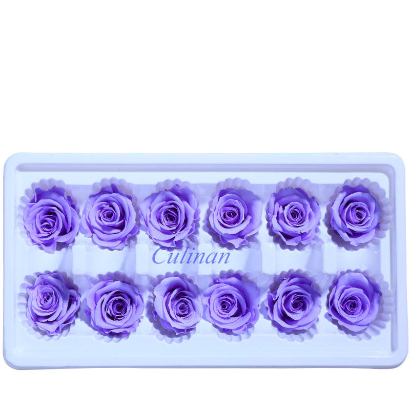 Culinan Wholesale Preserved Flowers 3-4Cm Long Lasting Rose Handmade Material Preserved RoseためOnline Business