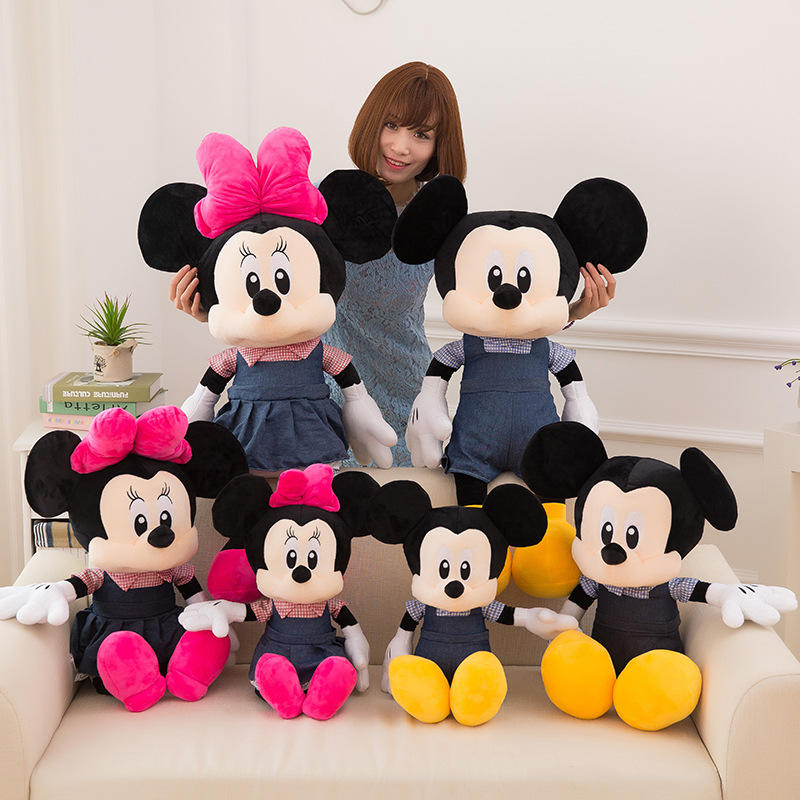 50 centimetri 60 centimetri 80 centimetri 100 centimetri 120 centimetri Gigante <span class=keywords><strong>Mickey</strong></span> <span class=keywords><strong>Mouse</strong></span>, minnie <span class=keywords><strong>Mouse</strong></span> Bella big size peluche giocattolo Farcito Peluche