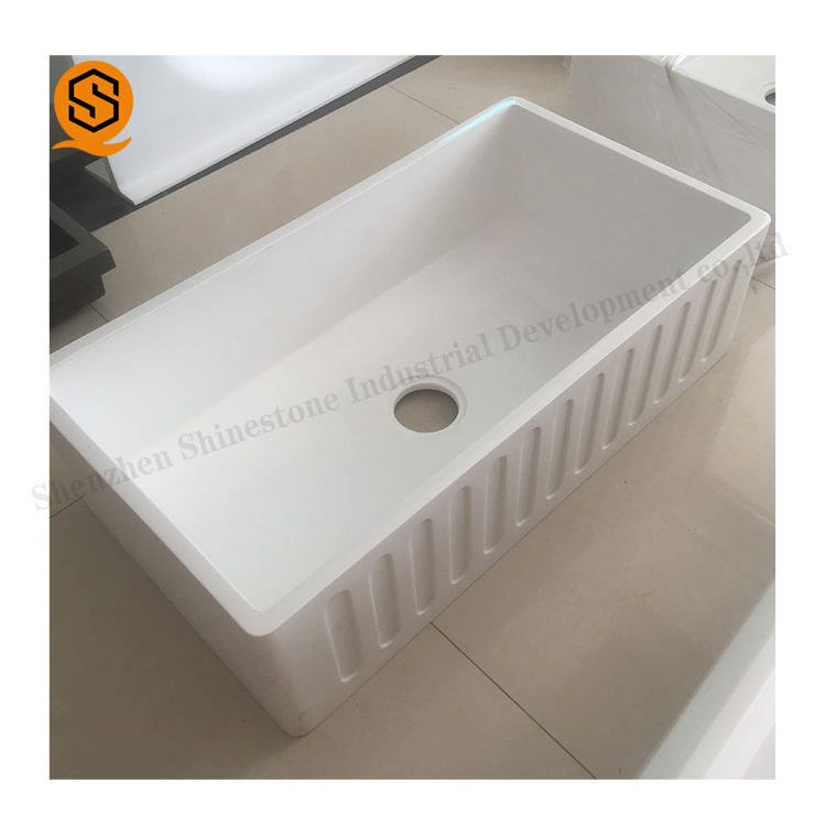 Foshan manufacturer high end and good price hand made modern farmhouse kitchen sink