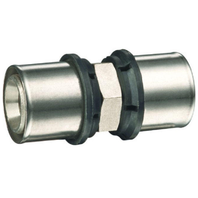 stainless sleeve copper nipple press fitting for pex al pex pipe