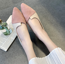 Korean vintage fashion design woman flat shoes new lovely pointed toe leisure casual ladies shoes
