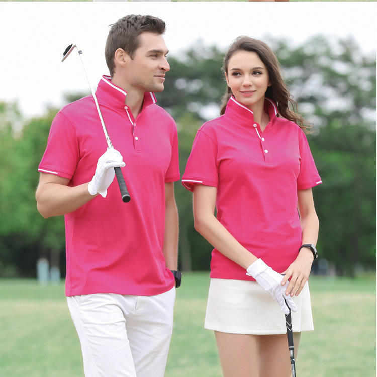 Lapel 100% Tencel cotton POLO shirt custom corporate culture shirt advertising leisure travel shirt