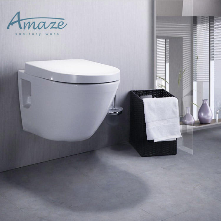 Keramische Wand Gehangen Wc Staande Wc Met Soft Close Seat