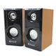 China Wooden Mini Usb Laptop Speakers 2.0 Multifunction Speakers