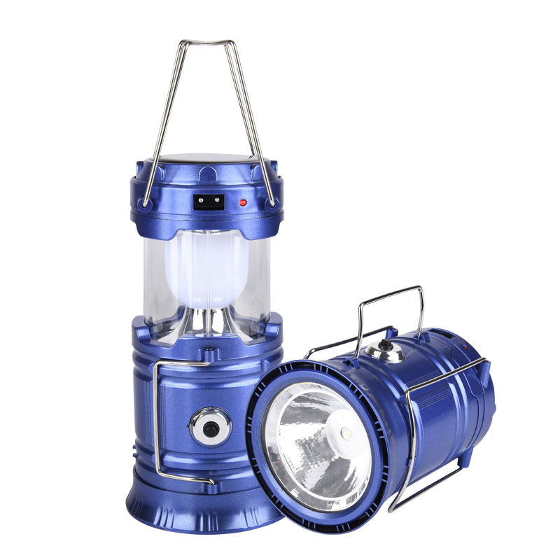 Bright Portable Camping Outdoor Light, Rechargeable Led Light Lanterns Camping 2020 Lamp Torch Led Light Solar Camping Lantern
