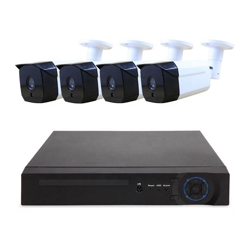 5MP AHD Security camera system outdoor night vision motion detection cctv dvr complete set 4channel