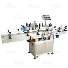 Round Position Self Adhesive Labeler Automatic Labeling Sticking Machine