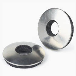 Stainless Steel  Ball Face Washers  With Rubber