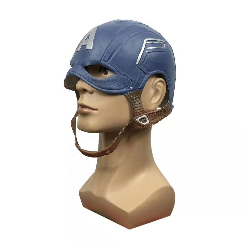 <span class=keywords><strong>Latex</strong></span> Captain America cosplay <span class=keywords><strong>masker</strong></span> Halloween Carnaval Party Hoofd <span class=keywords><strong>Masker</strong></span>