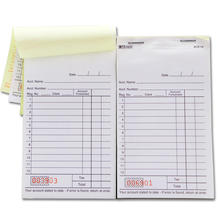 Customizable Custom carbonless Printing Sample Invoice NCR/Carbonless sales order guest check Book
