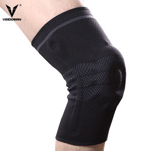 Wholesale Breathable Compression Elastic Volleyball Knee Brace Support Sleeve Pads for Sports Basketball Running Gym FItness
