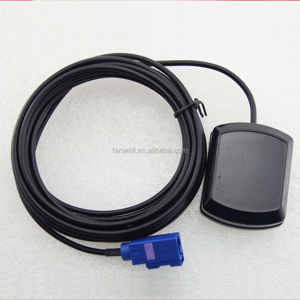 factory price car gps antenna of communication make marine patch car with RG174 cables Fakra connector