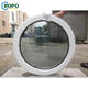 NZS4211 Ropo Brand Name Circular UPVC Windows