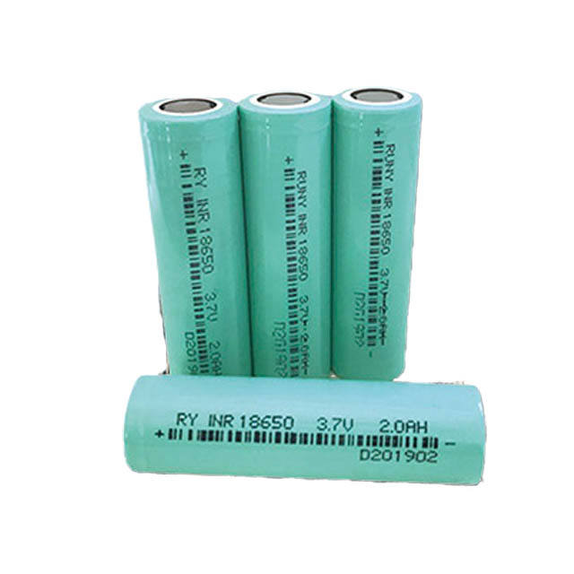 One-Stop Service [ Battery ] Lithium Battery Cell Lithium Li Ion 3.7v 18650 Battery 1600mAh 1800 MAh 2000 MAh Rechargeable Batteries Cell