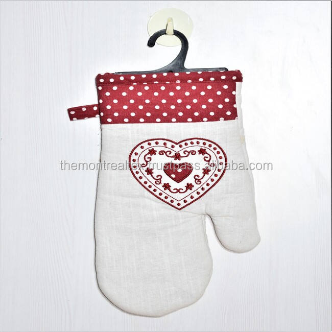 Wholesale Custom Printed Cotton Oven Mitt and Pot Holders