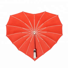 "27"" high quality lace lover heart shape rian umbrella"
