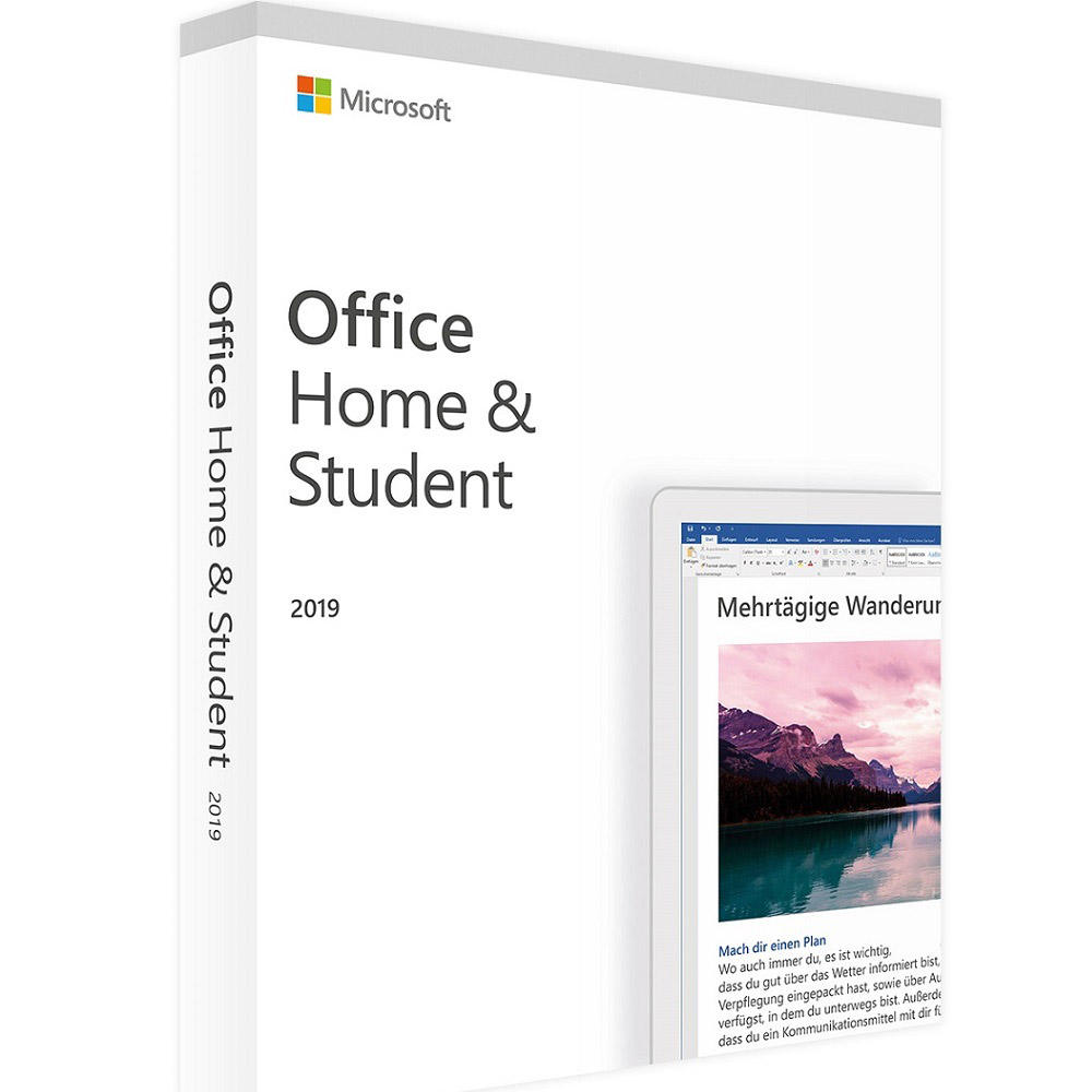 Activation Key Microsoft Office Home and Student 2019 genuineLicense Key Code for PC