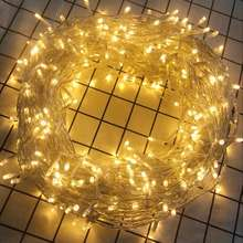 Bolylight 3*AA Battery Series 400L Mini Fairy Copper/Silver Wire Led String Light Christmas Decoration Light