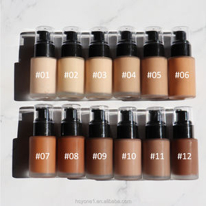 Awesome fun Best no logo vegan matte full coverage foundation make up base Waterproof