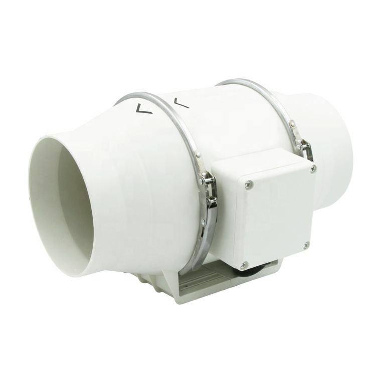 125mm Super Silent Mix Flow Humidity Inline Duct Fan